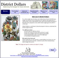 DCN and the School District Develop Interactive Website