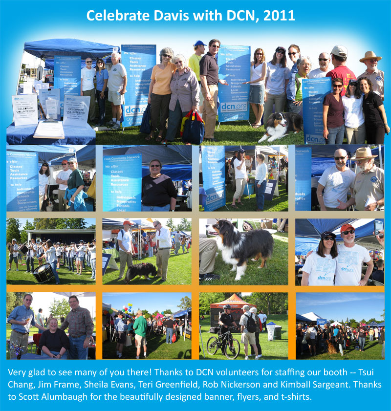 Celebrate Davis with DCN, 2011 - photos and thanks