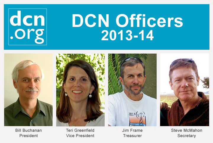Meet DCN's 2013-14 Board Officers
