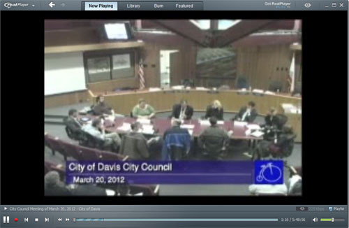 Joint meeting of City Council and Telecommunications Commission