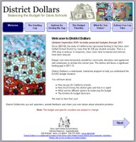 """LOCAL SPOTLIGHT: """"District Dollars"""" updated with budget projections through 2015"""
