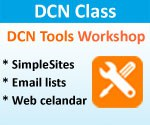 DCN Class - DCN Tools Workshop - Thurs, 4/18/2013