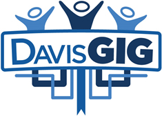 DavisGig color logo