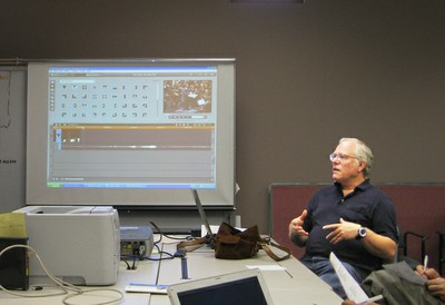 Russ Hobby demonstrates how to edit raw video, upload to the Internet, embed onto and/or link to one's website.